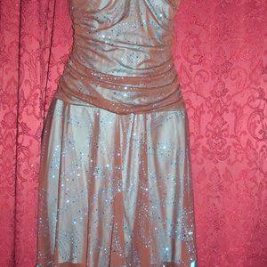 Taboo Prom, Wedding, Black & Blue Beautiful Dress